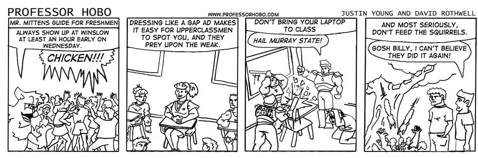 Mr. Mittens' Guide for Freshmen
