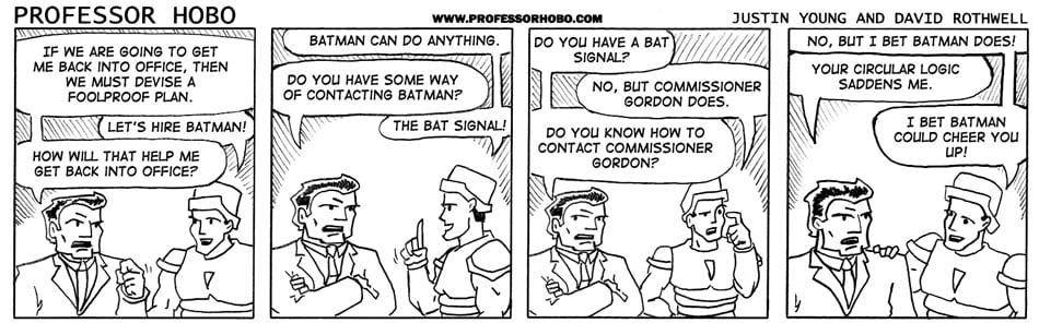 Let's Hire Batman