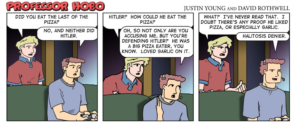 Hitler and Pizza