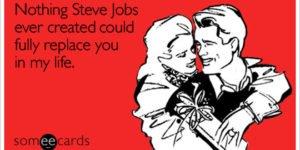 Steve Jobs valentine