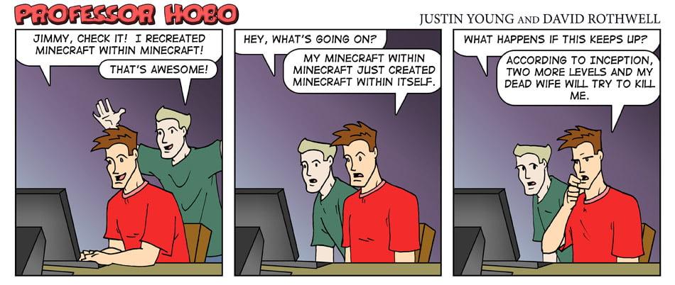 Minecraft Within Minecraft