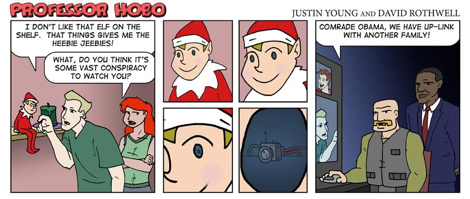 Elf on the Shelf Exposed