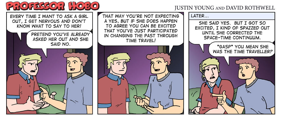The Time Traveling Dater