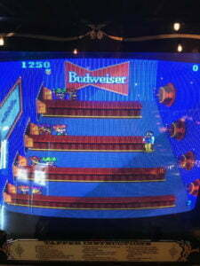 Tapper screen with Budweiser logo featured prominently.