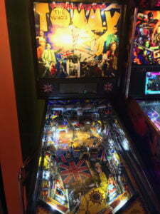 "The Who's ""Tommy"" pinball table."