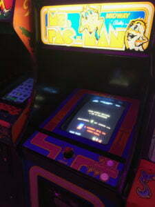 Ms. Pac-Man began life as a hack of the original game.