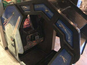 This is the classic Star Wars arcade game.