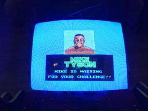 Mike Tyson was the final boss for Mike Tyson's Punch-Out!!